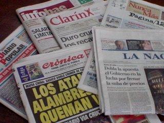 La venta de periódicos decae todos los días y la rentabilidad de la publicidad en Internet va en aumento